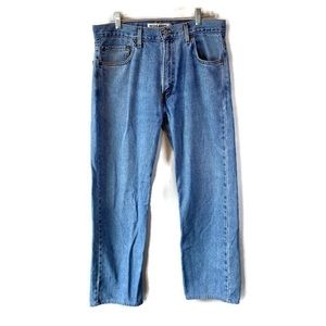 Levi's 505 Light Stonewash Regular Fit Jeans 36x30